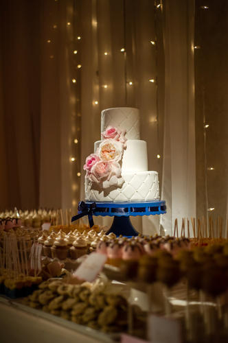 Cake and dessert table by Cake Goodness