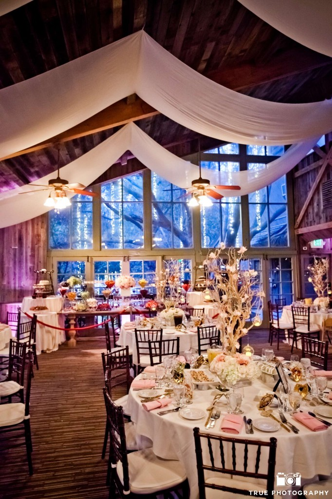 When it comes to technical elements such as lighting, it's vital to have professionals at hand.  Here, Pacific Event Lighting provided ambiance with their lighting and a professional, smooth installation and breakdown.  Photo by True Photography Weddings.