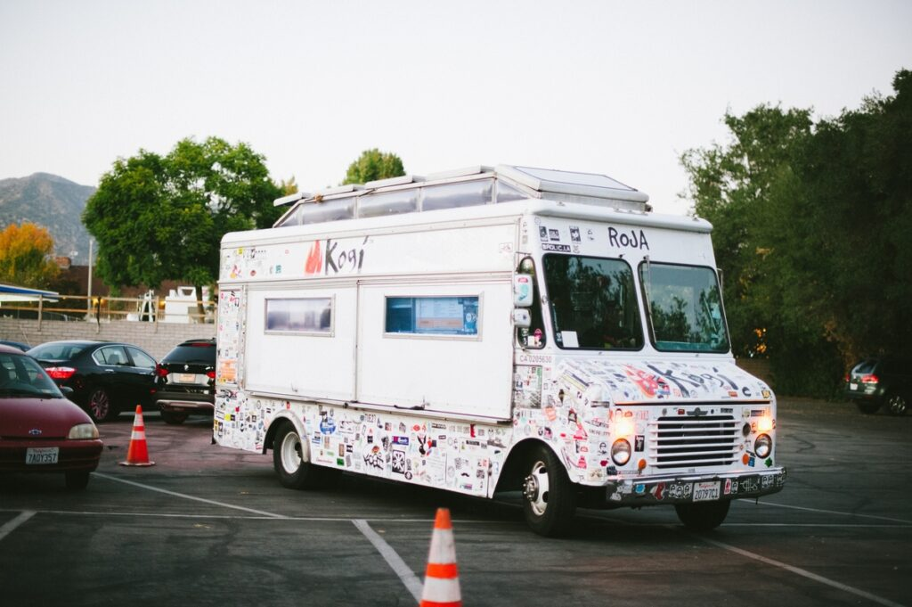 Food trucks are a great idea for weddings, and can save money too. Kogi is a popular option for L.A. based couples.