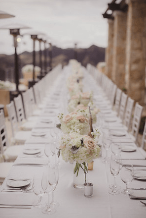 Florals by Lotus and Lily, Linens by Luxe Linen