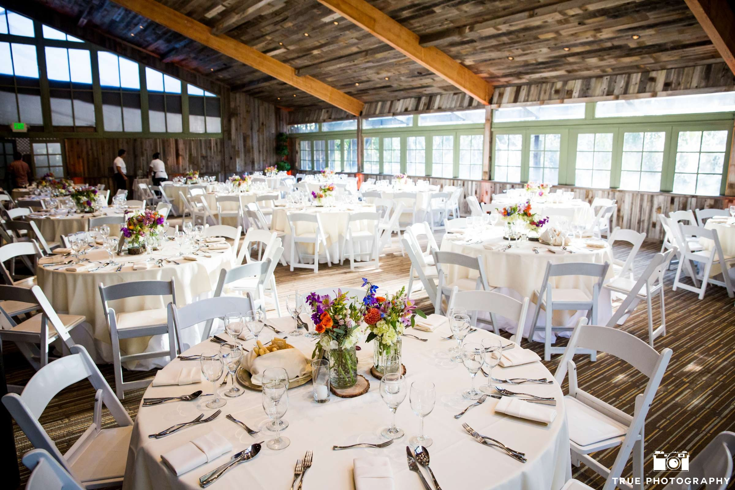Calamigos Oak Room Ballroom Wedding