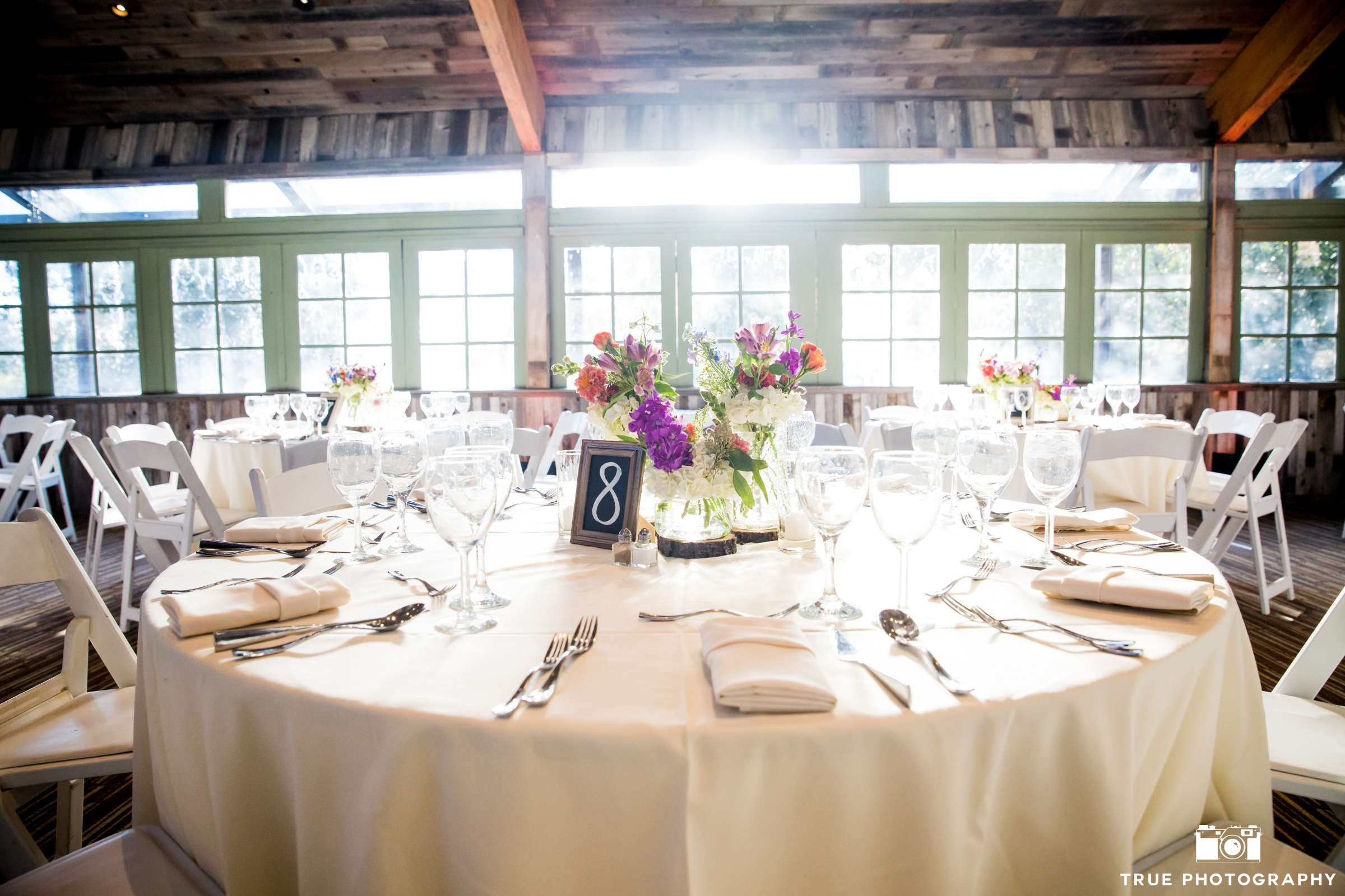 Calamigos Ranch Oak Room Ballroom Wedding