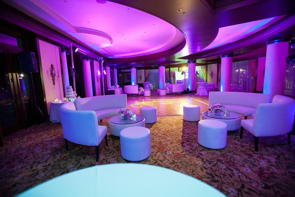 lounge westlake village four seasons purple lighting