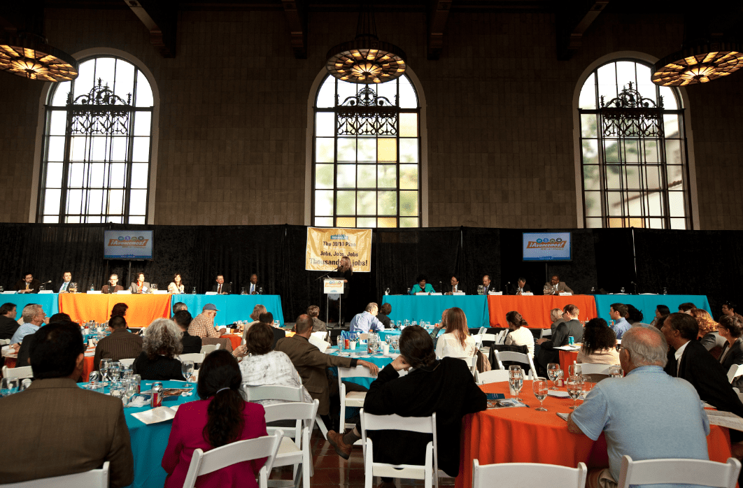 Corporate event conference union station los angeles planner