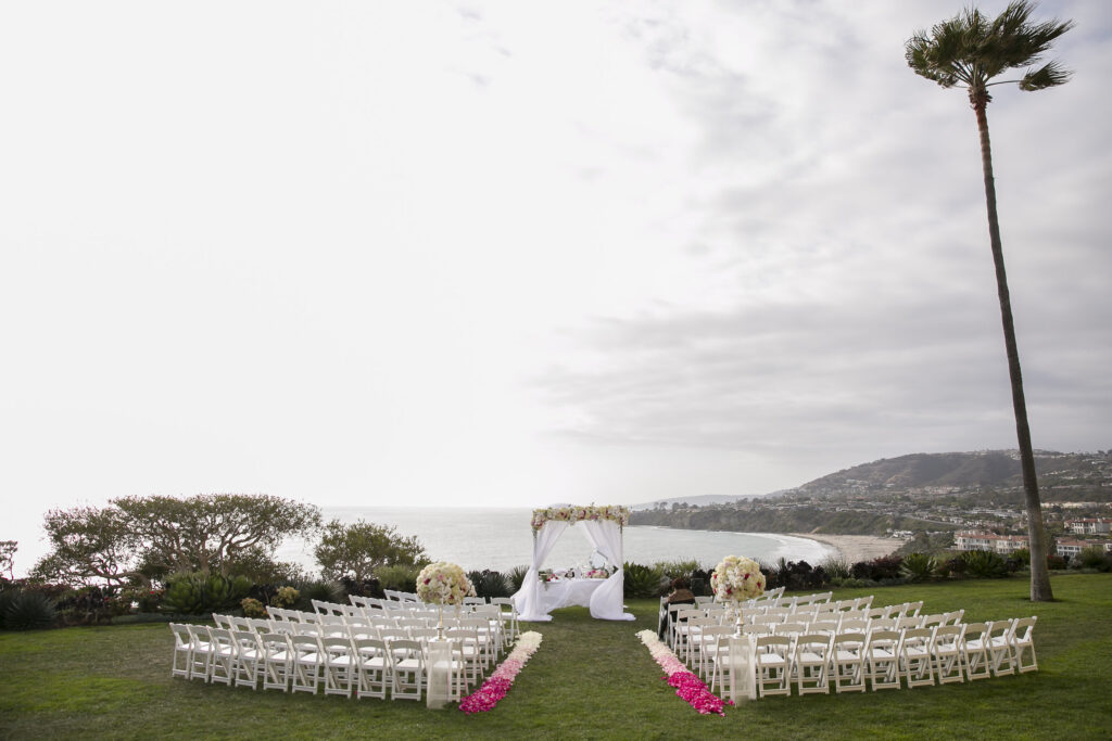 Ritz Carlton Ocean View wedding OrangeCounty Dana Point Employee