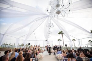 Beach Wedding Los Angeles With Tent