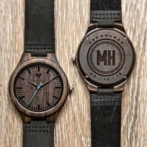 Customizable Watches for Wedding Groomsmen Gifts