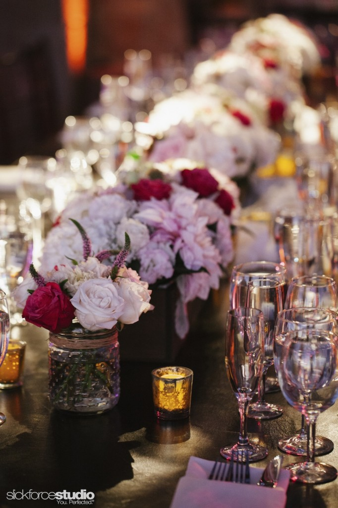 Photo by Slickforce/Nick Saglimbeni, florals and design by Lotus and Lily.