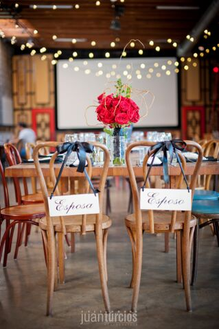 Latin Speakeasy Wedding Tablescape
