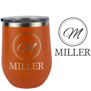 Monogrammed mug wedding gift for family
